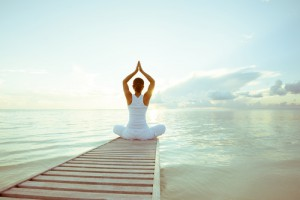 Inneres Gleichgewicht ist das Ziel von Yoga