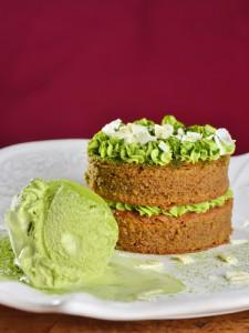 Matcha-Kuchen, Matcha-Eis - das grüne Pulver findet überall Verwendung