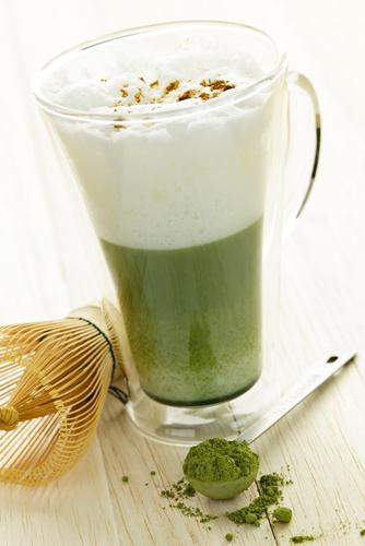 Matcha Latte - schön, lecker und gesund
