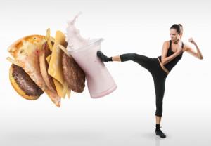 Ungesundem Essen den Kampf ansagen