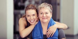 Optimale Betreuung im Frauenfitnessstudio