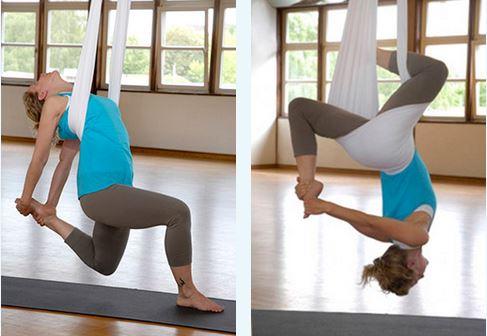 Aerial Yoga Kurstechnik