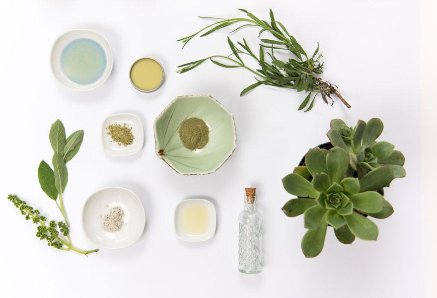 Hautpflege aus natürlichen Stoffen